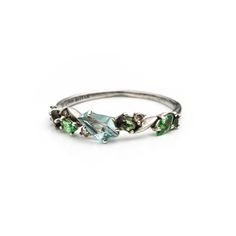 Juniper Marquis Small Cluster Band Ring | Alexis Bittar