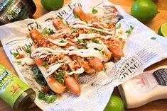 Poppamiehen hodarit #poppamies #savustus #grillaus #maustaminen #ruoka #ruuanlaitto #mauste #mexmex #hodari #hotdog Hot Dogs, Mexican, Ethnic Recipes, Food, Essen, Meals, Yemek, Mexicans, Eten