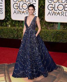 Jenna Dewan Tatum attends the 73rd Annual Golden Globe Awards in Los Angeles on Jan. 10, 2016. - Jordan Strauss/Invision/AP