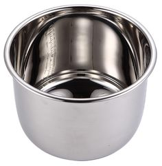 Stainless Steel Replacement Cooking Pot for GoWISE USA Pressure Cookers Only (8 Qt)