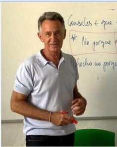 Leopoldo Casares, Spanish teacher at Malaca Instituto.