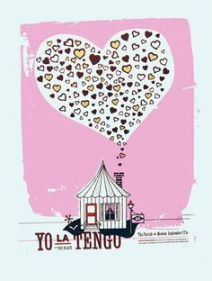 C3 Concerts » Poster: Yo La Tengo, The Black at The Parish (2007/09 ...