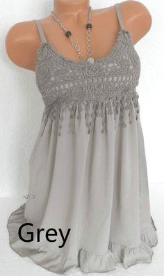 91d9e1f25966fd Women Lady Sexy Summer Sleeveless Top Blouse Lace Vest Tank – lalasgal