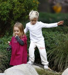 Kingston Rossdale & Ruby Maguire: Hollywood Playdate!