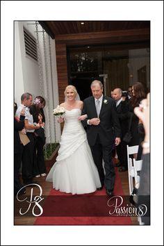 Seaview Room Wedding Ceremony Brighton Savoy Bride arrival Passion 8 Photography