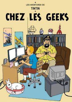 Tintin chez les geeks: le nouvel album que même Hergé ne connait pas