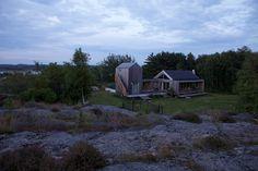 Architecture, Design, Interior, interiordesign, wood, Cabin, Summer, Sweden, Grebbestad,  Scandinavia, landscape, HaraldLode