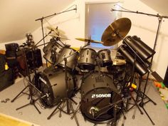 388 Best Big Bad Double Bass Drums Images In 2019 Drum Kits Drum