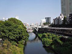聖橋と御茶ノ水駅-OCHANOMIZU STATION