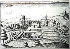 Coulommiers (Seine-et-Marne), Gravure de Chastillon vers 1600. - Oeuvres de Salomon de la Brosse: Façade de l'église St-Gervais-St-Protais de Paris 1616-1621. - Chateau de Bléricourt (aisne) 1618. - Façade du Palais du Parlement de Bretagne (Rennes) 1618. - Maison du Fontainier (Paris) 1619 marquant l'extrémité nord de l'aqueduc Médicis. -