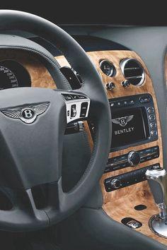 Bentley interior = luxury