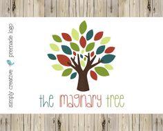 Logo Design  Tree Logo Design  Premade Logo by simplycreativeshop, $20.00