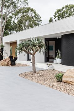 Palm Springs Houses, Palm Springs Style, Modern Exterior, Exterior Design, Palm Springs Mid Century Modern, Australian Homes, Facade House, Mid Century House, Spring Home