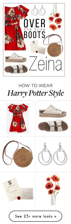 Designer Clothes, Shoes & Bags for Women Harry Potter Style, Harry Potter Characters, Zeina, Over The Knee Boots, Place Card Holders, Polyvore, How To Wear, Design, Women