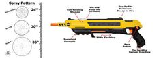 It's called the Bug-a-Salt, an air-powered salt rifle.