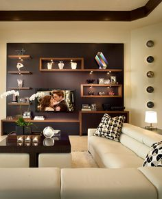 Floating shelves family room contemporary with floating shelves floating shelves