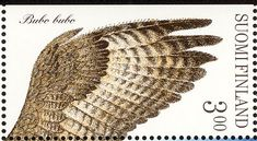 Eurasian Eagle-Owl stamps - mainly images - gallery format