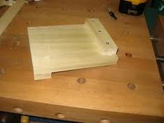 Wood carving bench hook - used to support material while shaping