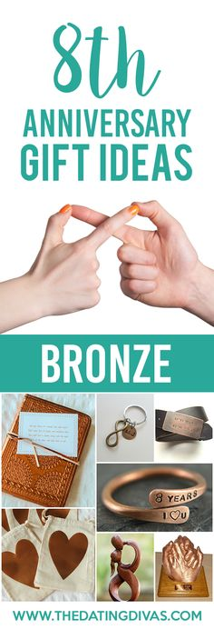 8th Anniversary Gift Ideas for your BRONZE Anniversary! So cute! The anniversary scavenger hunt is my favorite one. SAVING for the future. So gonna do this!