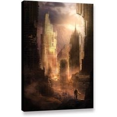 ArtWall Philip Straub The Arrival Gallery-wrapped Canvas, Size: 24 x 36, Pink