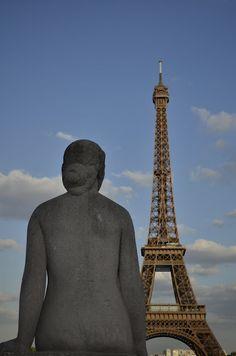 Paris, my love :) Buddha, Tower, Statue, French, Paris, My Love, Building, Travel, Life