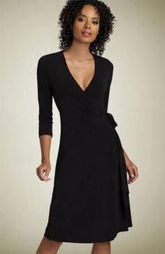 Celebrities who wear, use, or own BCBG Max Azria Matte Jersey Wrap Dress. Also discover the movies, TV shows, and events associated with BCBG Max Azria Matte Jersey Wrap Dress. Sexy Little Black Dresses, Black Dress With Sleeves, Black Gowns, Work Fashion, Fashion Show, Fashion Design, Women's Fashion, Cold Weather Dresses, Dresses For Work