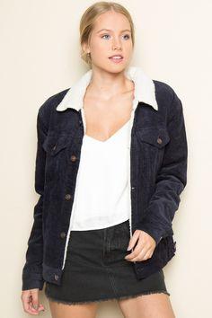 Brandy ♥ Melville | Elisha Corduroy Jacket - Clothing