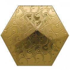 Dec. Piramidal 2 Oro 17x15