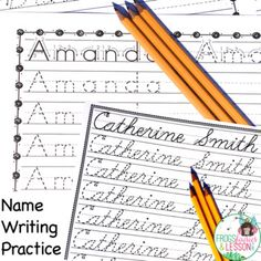 name writing practice reading and writing blog posts by frogs fairies and lesson plans. Black Bedroom Furniture Sets. Home Design Ideas