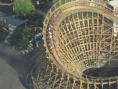 "Hop on Gold Striker, ""California's Best Wooden Roller Coaster,"" during a Spring Break visit this week. We're open Wed-Sun of this week and next. Check out the terrific online deals. Plus, Season Pass holders can bring up to 4 friends for just $19.99 each the next two Fridays. www.cagreatamerica.com #GreatAmerica"