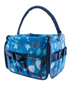 Take a look at the Turquoise Owls Square Stuff Bucket on #zulily today!