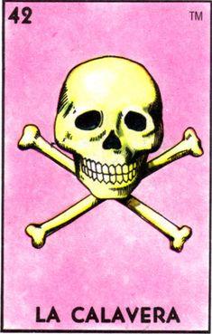 tarot loteria calavera