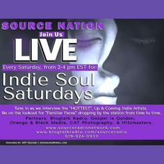 http://slides.com/treciejeffcoat/indie-soul-saturdays-with-host-kathy-b-special-guest-r-b-artist-l-young  ENJOY THE SLIDE SHOW!  Source Nation! Today @ 4:15, R&B Artist, L. Young (@thereallyoung) drops by the studio to share his music & upcoming projects.  Call in with your questions @ 619-924-0933.  You've heard it here from your favorite radio station, Source Radio Network.