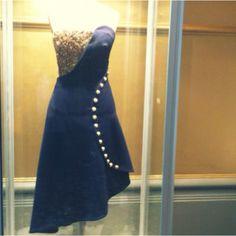 Alexander McQueen design for the Wool Modern exhibition