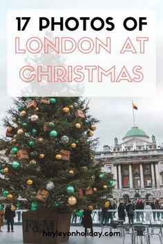 Looking for some London Christmas inspiration? Check out this guide for plenty of festive London places and events. Holidays in London | visit London | London Christmas decorations | festive London | London Christmas markets