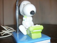 Vintage Snoopy Lamp by Iknowretro on Etsy, $30.00