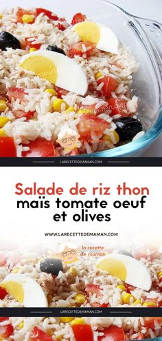 Salade de riz thon maïs tomate oeuf et olives – La Recette de maman Berry Smoothie Recipe, Easy Smoothie Recipes, Easy Smoothies, Good Healthy Recipes, Healthy Snacks, Snack Recipes, Homemade Frappuccino, Grilled Fruit, Coconut Recipes
