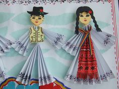 Origarden: 1 DECEMBRIE - ZIUA ROMÂNIEI Diy And Crafts, Crafts For Kids, Arts And Crafts, Paper Crafts, After School, Pre School, Kids Education, Dracula, Traditional Outfits