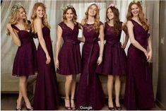 Vestidos para damas de honor 2017 | Estilo y Belleza