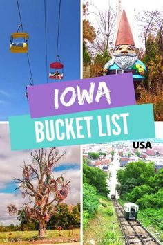 15 Things To Add To Your Iowa Bucket List! – Between England & Iowa Iowa State Fair, Mason City, Movie Sites, Us Road Trip, Roadside Attractions, Travel Advice, Travel Vlog, Travel Ideas, Worldwide Travel