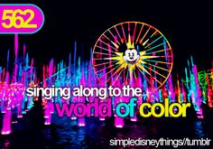 LOVE World of Color!!!