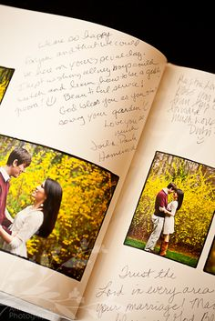 Anna and Spencer Photography, Wedding Guest Signiture Book.