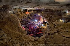The Volcano Room - Cumberland Caverns - Bluegrass Underground