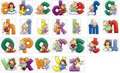 El abecedario decorado - Imagui