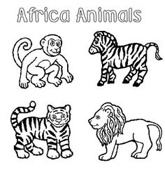 Amazing Coloring Pages Animal