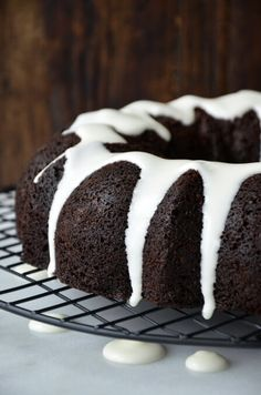 A classic holiday cake gets a kick of cocoa with this easy recipe for Chocolate Gingerbread Bundt Cake loaded with seasonal spice.