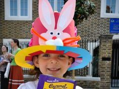 Easter bonnets for boys and girls  #easter #easterbonnets #eastercraftsforkids