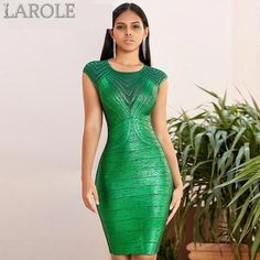 Adyce 2020 New Autumn Green Lace Bandage Dress Women Sexy Hollow Out Bodycon Club Celebrity Evening Runway Party Dress Vestidos Green Bandage Dress, Sexy Green Dress, Green Cocktail Dress, Streetwear, Club Party Dresses, Party Outfits, Dress Outfits, Summer Outfits, Bodycon Dress Parties
