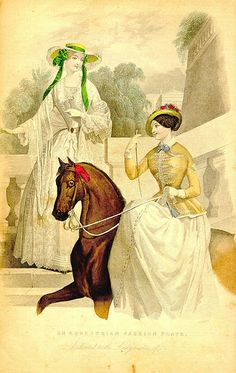 Riding Dress & Morning Dress, January 1849