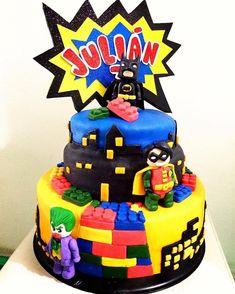 Bolo Lego: 50 Ideias de Decoração Incríveis para a Festa